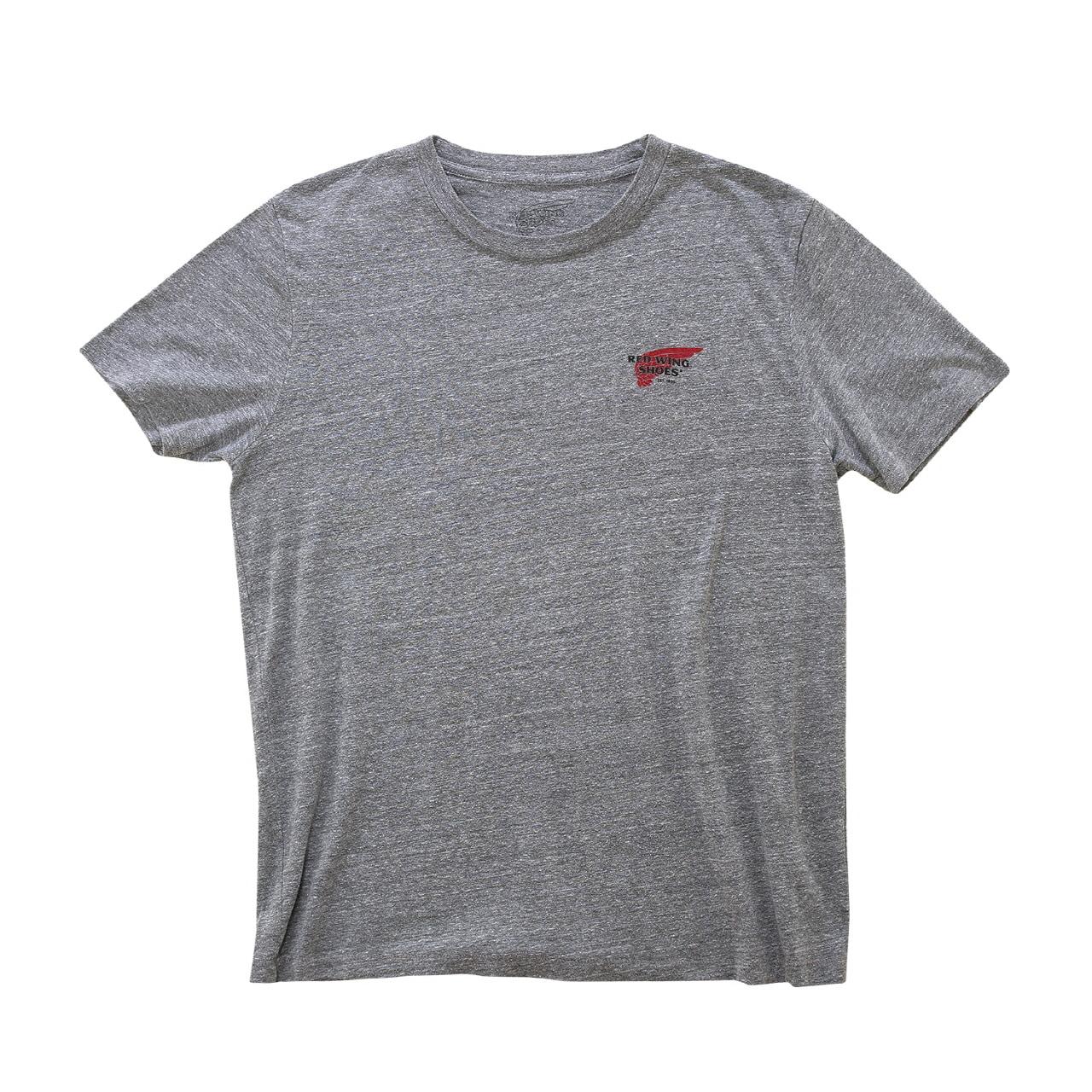 로고 티셔츠 97404 - 그레이