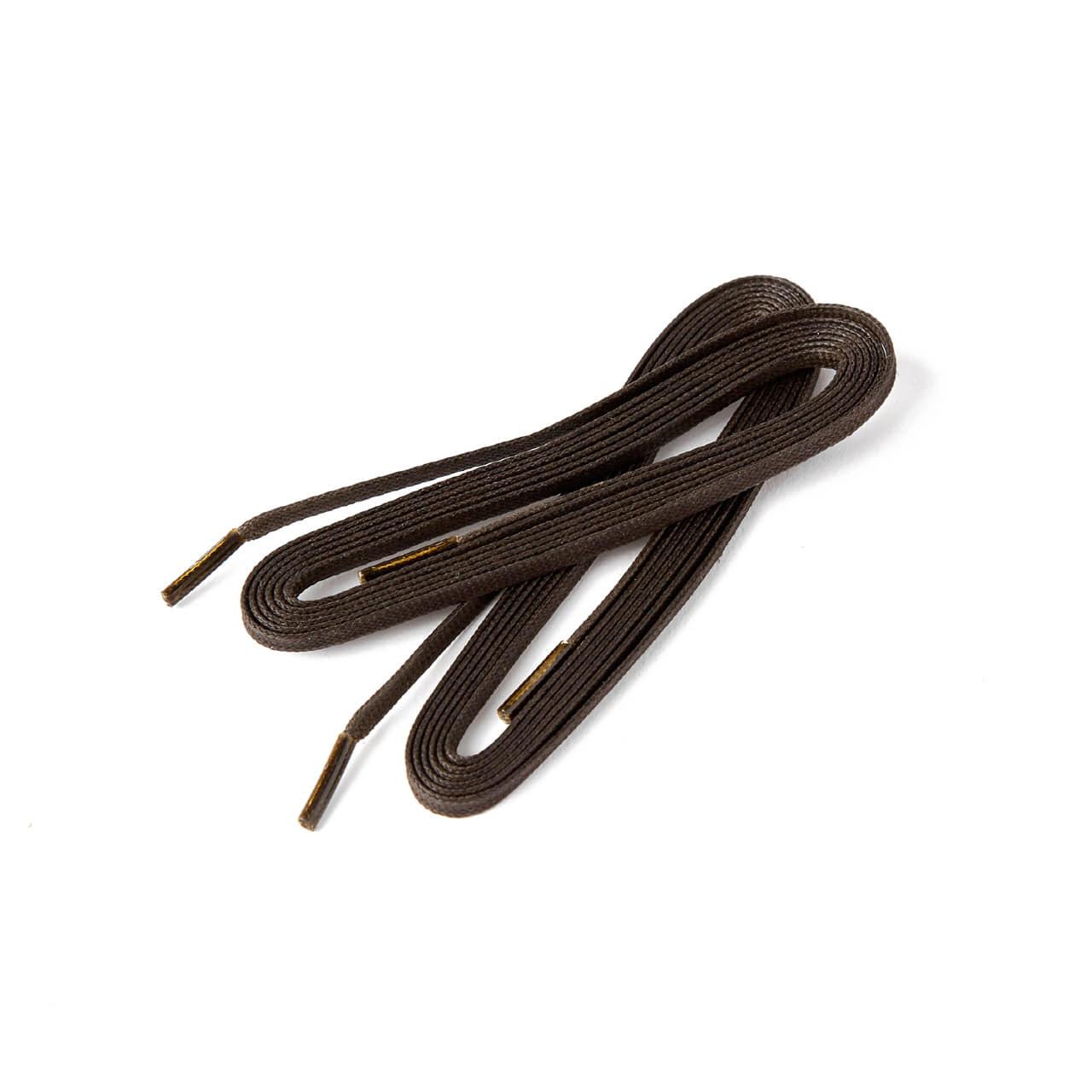 플랫 왁스 신발끈 (Thin) 54인치