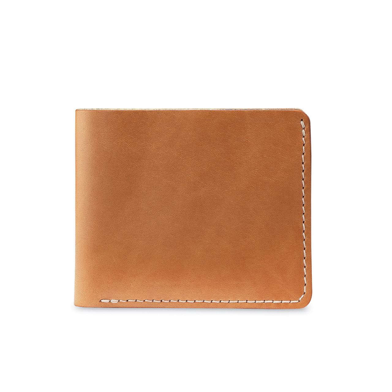 클래식 바이폴드 지갑 95026 - 내추럴 베지터블 탄